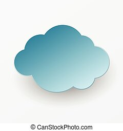 papier, nuage