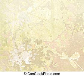 papier, pastel, fleur, art, fond