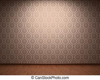 papier peint, tissu