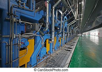 papier, usine, machinerie, équipement