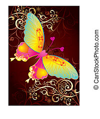 papillon, amour