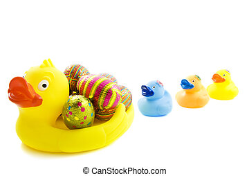 paques, canards