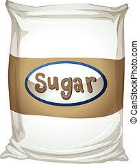 paquet, sucre
