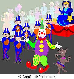 parade, clown