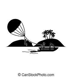parasailing, sport, extrême