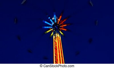 parc, carrousel
