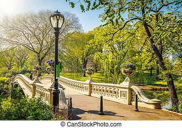 parc, central, york, nouveau