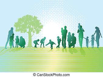 parents, enfants