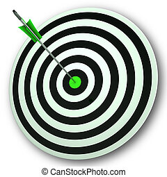 parfait, oeil, cible, foyer, taureaux, précision, spectacles
