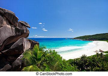 parfait, seychelles, plage