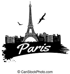 paris, affiche