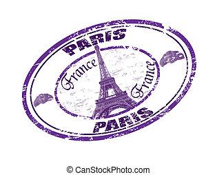 paris, timbre