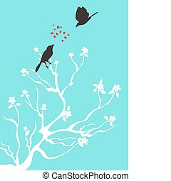 parler, aimer oiseaux