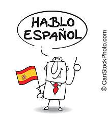 parler, espagnol