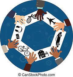 partage, économie