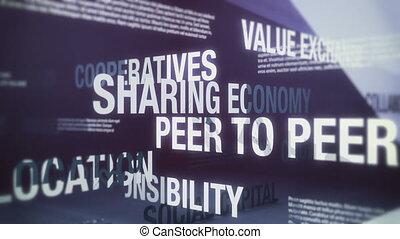 partage, termes, économie, apparenté, seaml