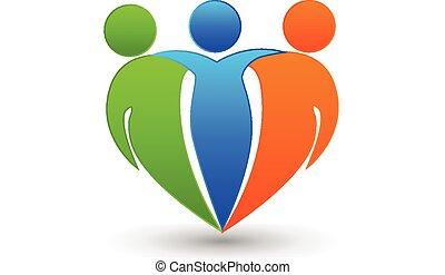 partenaires, amis, logo