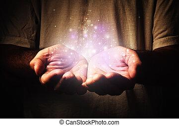 particules, magie