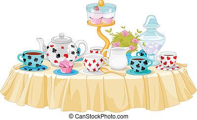 partie thé