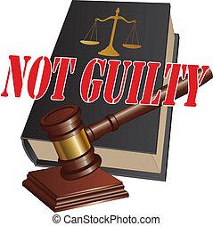 pas coupable, verdict