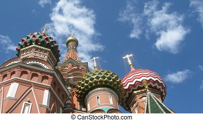 passes, basilics, carrée, rue., moscow., rue, appareil photo, cathedral., cathédrale, basil's, rouges