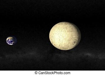 passing., lune, ntsc, cg.