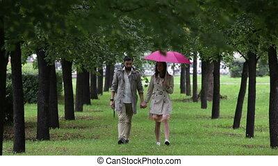 passion, pluie, sous