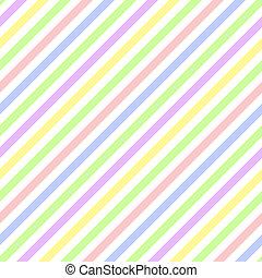 pastel, raie diagonale, seamless