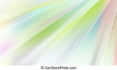 pastel, rayons, résumé, couleurs, animation, vidéo
