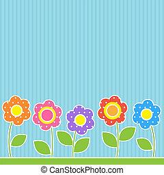 patchwork, style, fleurs