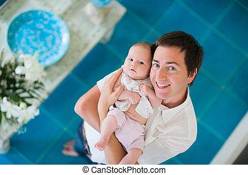 paternité, heureux