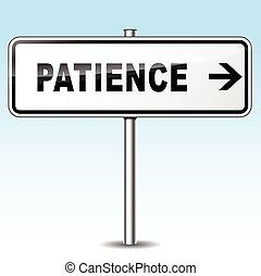 patience, signe