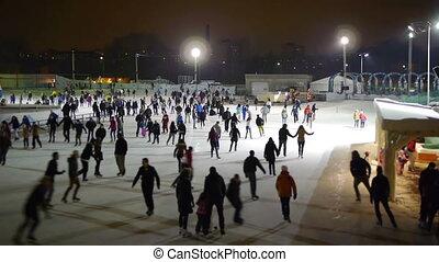 patinage, -, hd, glace