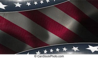 patriotique, 1, couleur d'arrière-plan