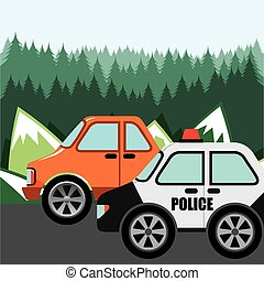 patrouille, police