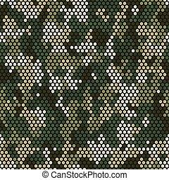pattern., camouflage, pixel, seamless, modèle, premier plan, urbain
