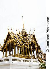 pavillon, palais, grandiose