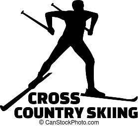 pays, croix, ski