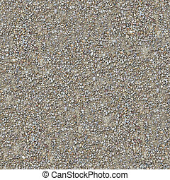 pays, gravier, road., texture, seamless