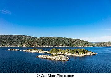 paysage, oslofjord