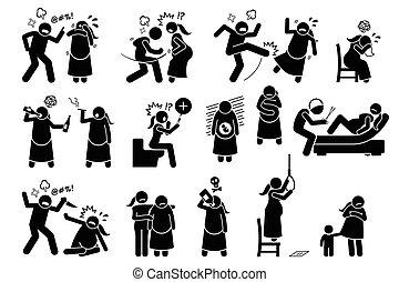 pendant, violence, intime, pregnancy.