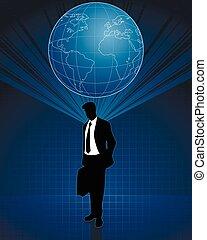 pensée, affaires globales