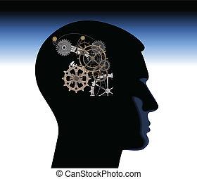 pensée, résumé, mécanique