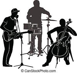 performance, musiciens