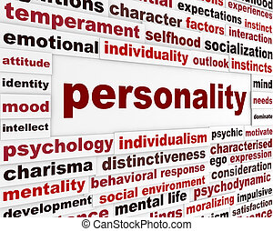 personnalité, interaction, social