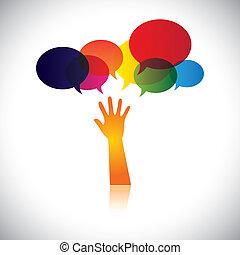personne, aussi, concept, détresse, aide, gens, ceci, amour, résumé, chercher, vecteur, demander, etc, ou, graphique, aide, représente, soin, soutien, soccour, assistance.