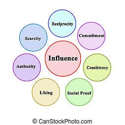 personne, influencing, préférence, facteurs