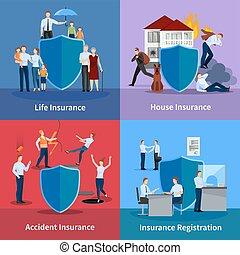 personnel, assurance, propriété
