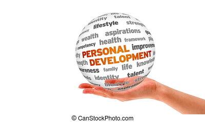 personnel, développement, mot, sphère