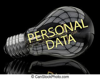 personnel, données